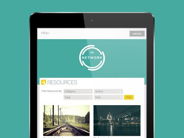 HTB networks web application, resources; videos, podcasts and blogs built for church planters.