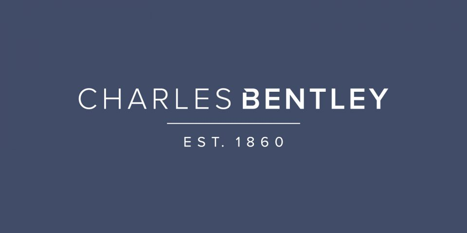 Brand identity and logo for Charles Bentley, a brush wear manufacturer based in Loughborough.