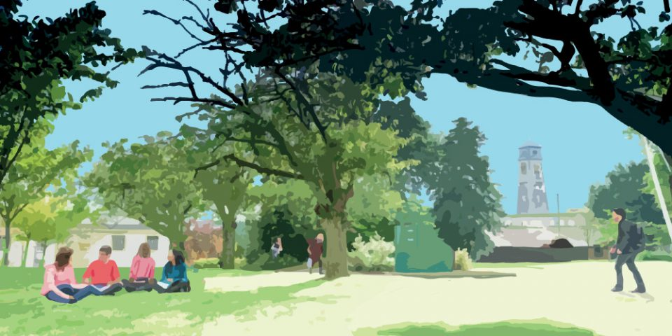 Animation for University of Nottingham, promoting student life.