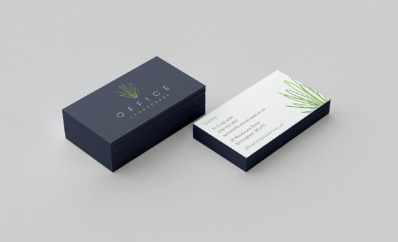 Brand identity and graphic design, and print for Office Landscapes.