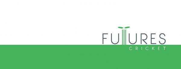 Futures Cricket logo, a cricket coaching service based in London.