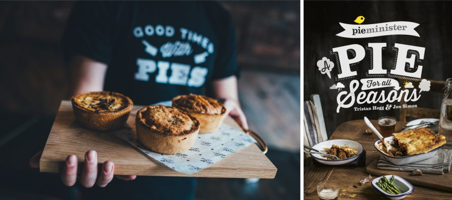 Pieminister advertising and branding - authentic photography.