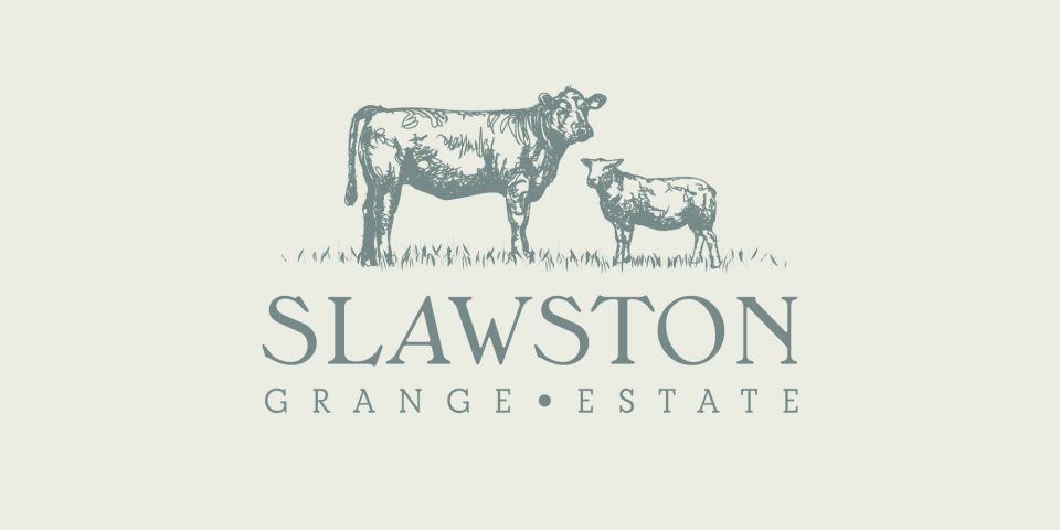 Brand identity, graphic design and signage for Slawston Grange Estate in South Leicestershire.