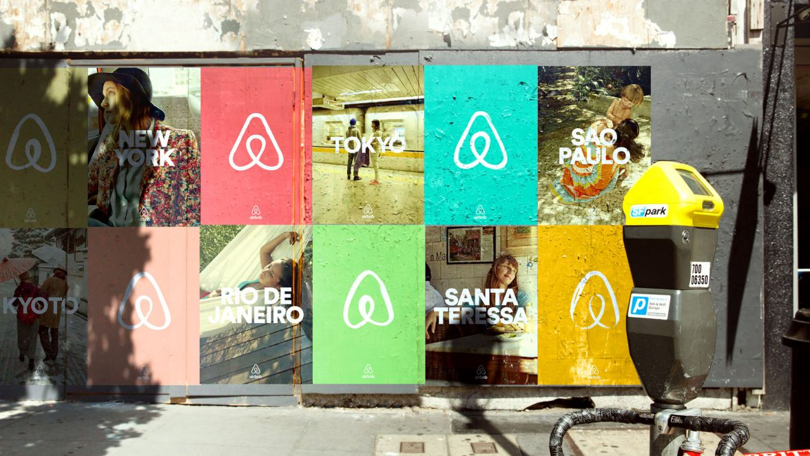 Successful rebrands - why they are successful, using Airbnb as an example.