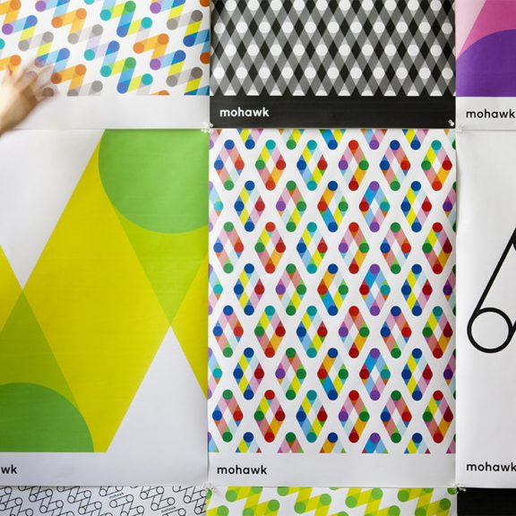 Patterns showcasing flexible brands, for Mohawk.