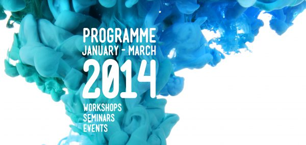 The 2014 programme for Creative Leicestershire.
