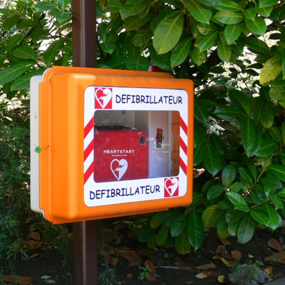 Comic sans used on a defibrillator