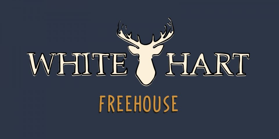 Brand identity and design for White Hart pub based in Loughborough