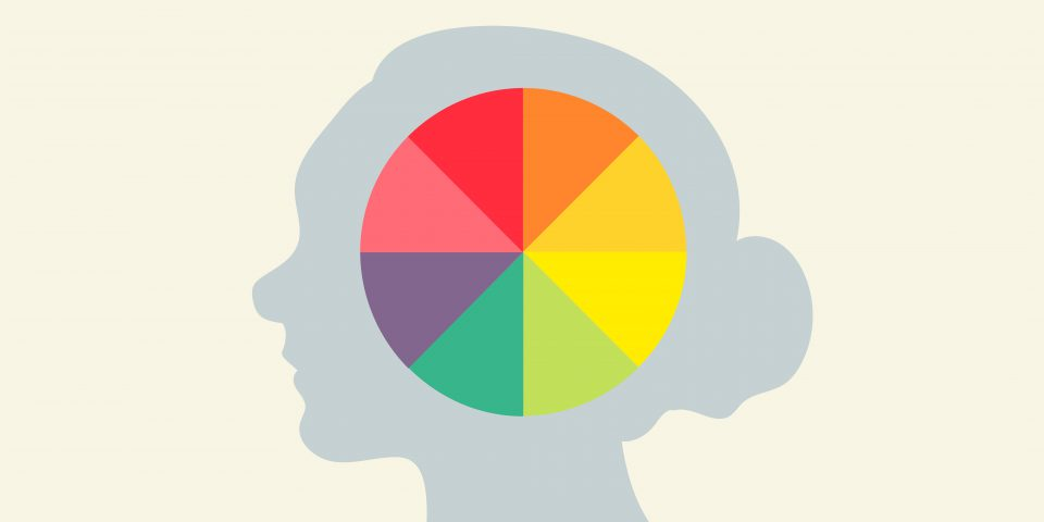 Colour palettes affect an audience's perception of a brand