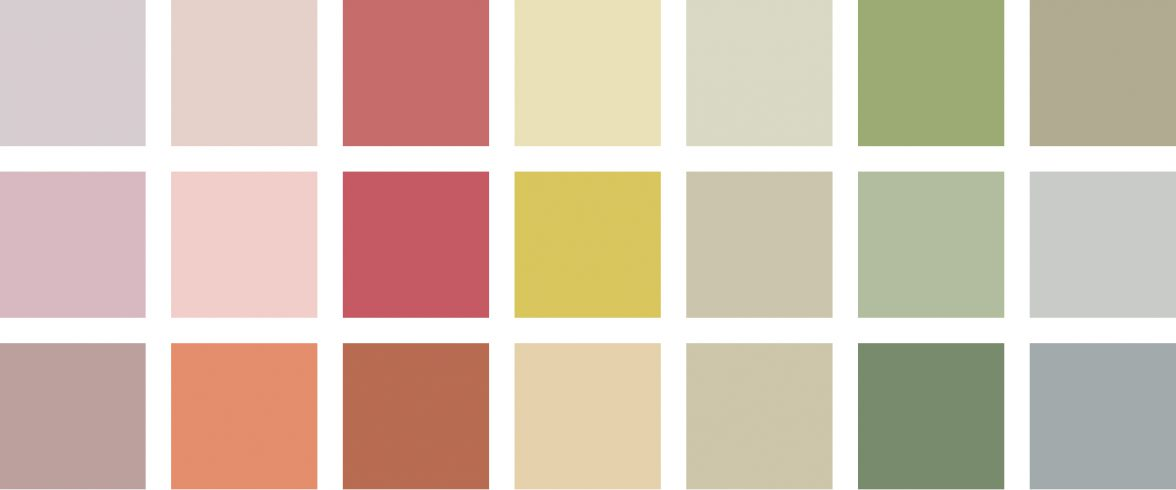 Farrow and Ball paint colours - a look into colour psychology