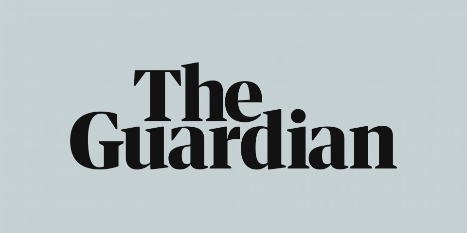 The Guardian redesigned logo with rebrand of layout and graphic design, which has been rolled out across the newspaper and app.