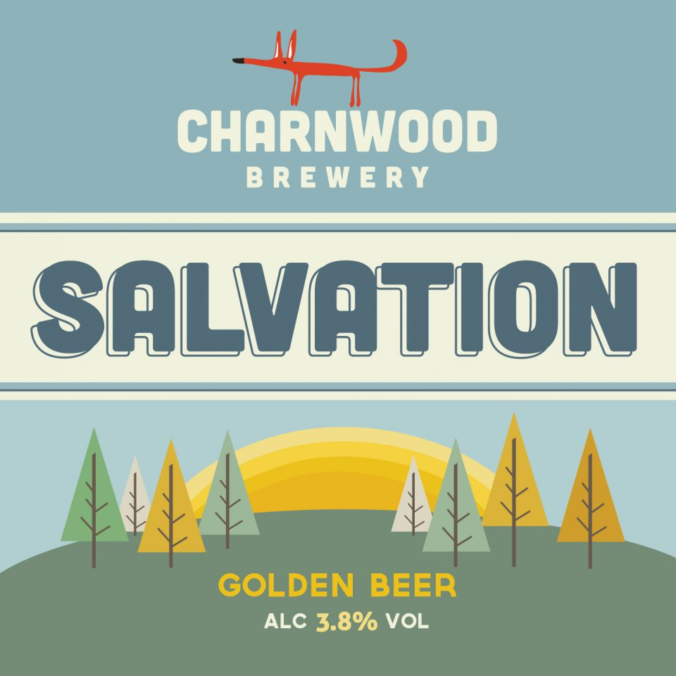 Branding for Charnwood Brewery, a micro brewery based in Loughborough.