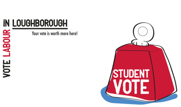 Student vote weight for Loughborough